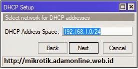dhcp server mikrotik 2 Setting MikroTik Sebagai DHCP Server